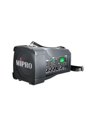 MIPRO MA100D 50W Speaker Module with Dual-Channel UHF 6B Receivers