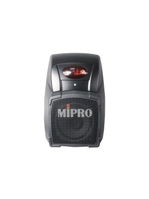 MIPRO MA101ACT Wall Mount PA System with integrated wireless mic receiver.
