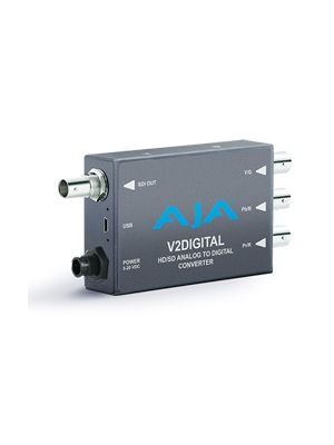 AJA V2Digital HD/SD Analog to HD/SD-SDI Digital Mini-Converter