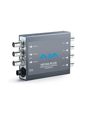AJA HD10A-Plus HD/SD Analog to HD/SD-SDI Mini-Converter