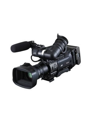 JVC GY-HM850E ProHD Compact Shoulder Mount Camera with Fujinon 20x Lens