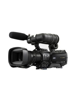 JVC GY-HM890E ProHD Compact Shoulder Mount Camera with Fujinon 20x Lens