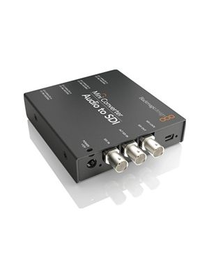 Blackmagic Mini Converter: Audio to SDI 4K