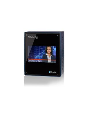 NewTek TriCaster Mini HDMI Live Production System with Integrated Display