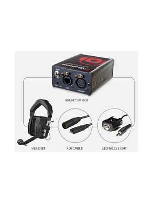 Streamstar Intercom and Tally system Including Headsets