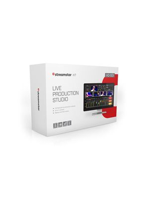 Streamstar HD-SDI KIT - Live Production & Streaming Software & HD-SDI PCIe Card