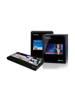 NewTek Live Sports Mini HD-4i Solution (Includes TriCaster Mini HD-4i, Control Surface and 3Play Mini)