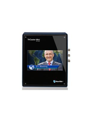 NewTek TriCaster Mini SDI Live Production System with Integrated Display