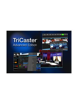 NewTek TriCaster Advanced Edition Software (Coupon Code)