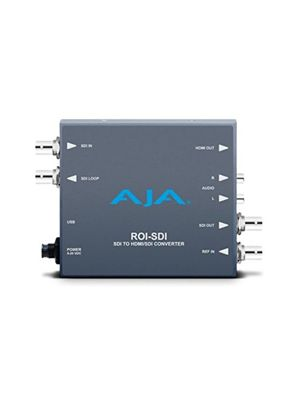 AJA ROI-SDI: 3G-SDI to HDMI Scan Converter with Region of Interest Scaling Software