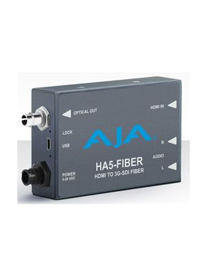 AJA HA5-HDMI to 3G-SDI over Fiber Mini Converter