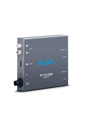 AJA IPT-1G-HDMI: HDMI Video and Audio to JPEG 2000/HDMI Encoder