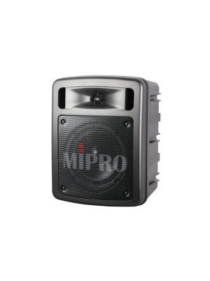 MIPRO MA303SB-5 Portable PA, 60 Watts with Bluetooth audio player, USB Music Player/Recorder and a Single Wireless Mic Receiver with Auto Scan and ACT Sync.