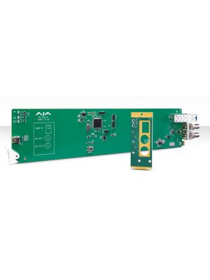 AJA OG-FiDO-R OpenGear 1-Channel Single Mode LC Fiber to 3G-SDI Receiver with DashBoard Support