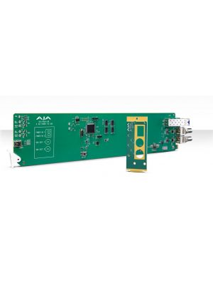 AJA OG-FiDO-2R OpenGear 2-Channel Multi-Mode LC Fiber to 3G-SDI Receiver with DashBoard Support