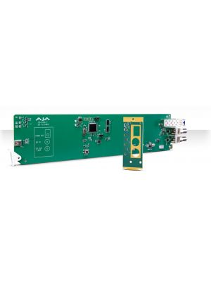 AJA OG-FiDO-T OpenGear 1-Channel 3G-SDI to Single Mode LC Fiber Transmitter with DashBoard Support