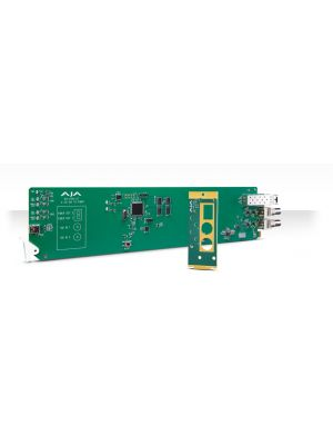 AJA OG-FiDO-2T-MM OpenGear 2-Channel 3G-SDI to Multi-Mode LC Fiber Transmitter with DashBoard Support