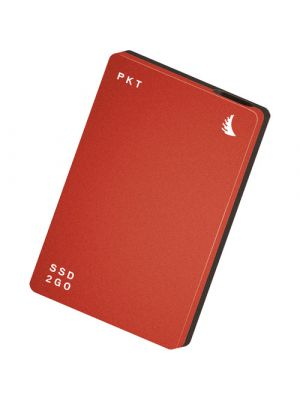 Angelbird 512GB SSD2go PKT USB 3.1 Type-C External SSD (Red)