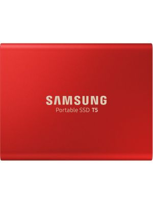 Samsung 1TB Portable SSD T5, USB3.1, Type-C, Up to 540MB/s (Red)
