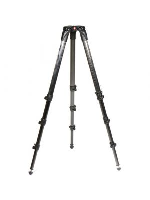 Manfrotto Nitrotech N8 Video Head & 536 Carbon Fiber Single Legs Tripod System