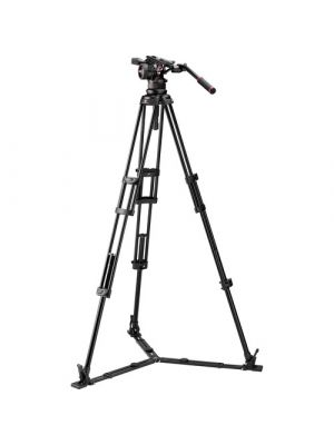 ManfrottoNitrotech N12 & 545GB Dual-Leg Tripod System with Half Ball Adapter & Bag