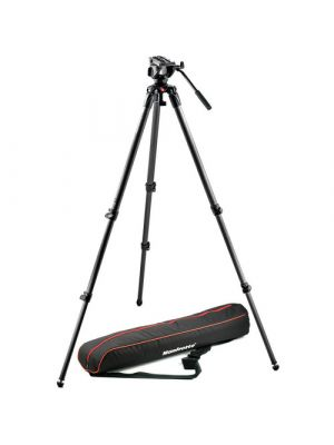 ManfrottoMVH500A Half Ball Fluid Head & 535 Tripod with Carrying Bag
