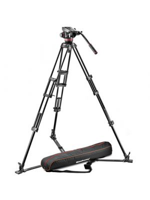 Manfrotto502HD Ball Base Fluid Head / 546GB Tripod / and Carrying Bag