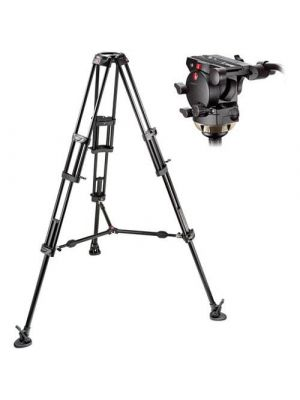 Manfrotto 526,545BK Professional Video Tripod System with 526 Head