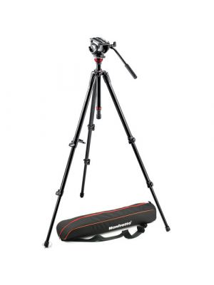ManfrottoMVH500AH Fluid Head & 755XB Tripod with Carrying Bag