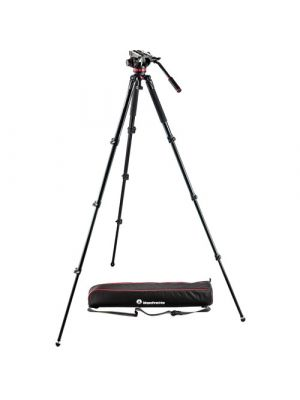 Manfrotto MVK502AQ Video Tripod with MVH502A Fluid Head