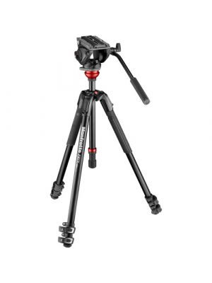 Manfrotto Kit Video 190XV + MVH500AH
