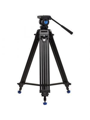 Benro KH25N Video Tripod & K5 Head - 60mm Bowl, Dual Stage, Quick Lock Leg Release