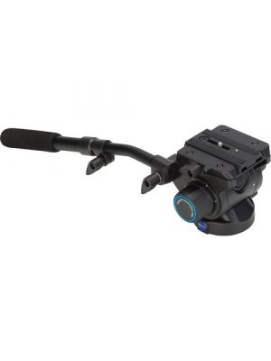 Benro S6 - 6Kg Video Head (Stepped - 0, 2.5Kg, 4.5Kg, 6Kg) [+90°/-50° Tilt Range]