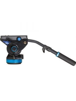 Benro S8 - 8Kg Video Head (Stepped - 0, 2.5Kg, 5.0Kg, 8Kg) [+90°/-70° Tilt Range]