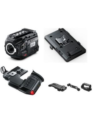 Blackmagic URSA Mini Pro 4.6K Kit with Viewfinder, Battery Plate and Shoulder Kit