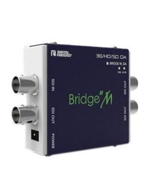 Digital Forecast Bridge M 3G/HD/SD SDI Recloking Video Distribution Amplifier (1 input / 3 outputs)