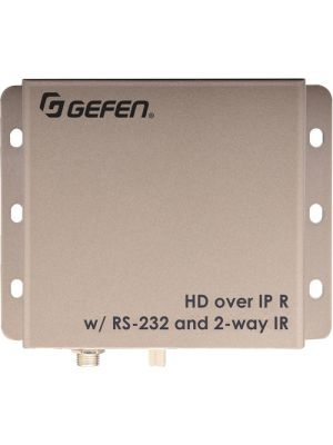 Gefen HDMI over IP with RS-232 and Bi-Directional IR Receiver