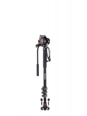Manfrotto MVMXPRO500 Aluminum XPRO Video Monopod (203cm) w Modified MVH500 Head