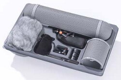 Rycote Windshield Kit 4 w/ Wind Jammer 4, Windshield 4 and MS2 Module Suspension