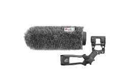 Rycote 033352 18cm Standard Hole Softie with Mount & Pistol Grip Handle