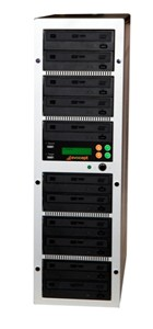 Evocept CopyBlast Ultimate 11-Drive 15x BD/DVD/CD Duplicator with 2TB Hard Drive