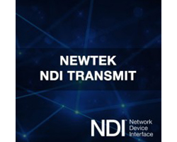 NewTek NDI Transmit Software Coupon Code